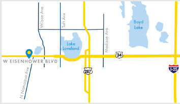 Renew Loveland Center map