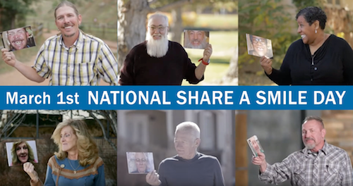 National Share a Smile Day