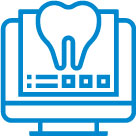 Tooth technology icon