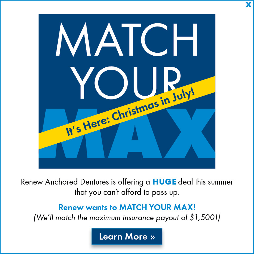 Match Your Max - July, 2021